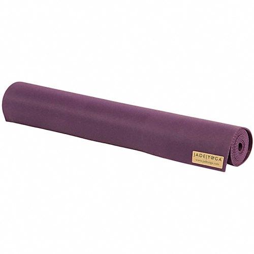Jade Harmony travel mat-purple rolled up