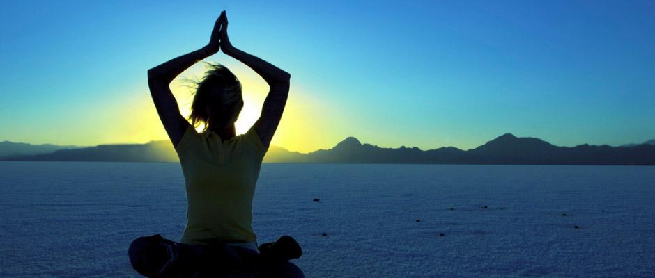 Yoga Sunset