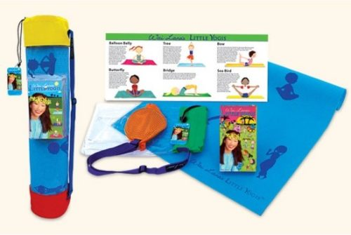 Little Yogis Tote Kit with DVD