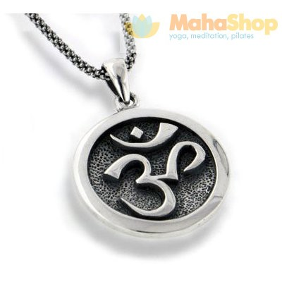 Om Necklace - Sterling Silver