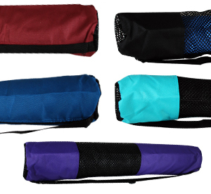 Nylon yoga mat bag