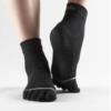Hugger Mugger-Toesox full toe ankle-black