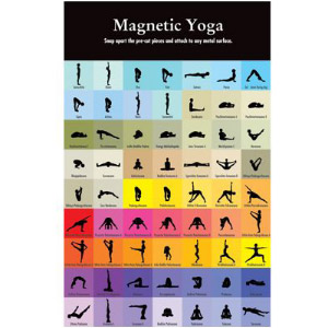 Magnetic Yoga Magnets