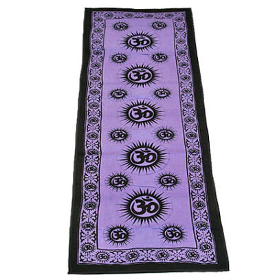 OM Cotton Yoga Mat