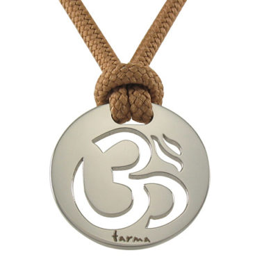 Om Pendant - Polished
