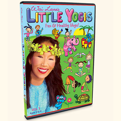Little Yogis DVD Vol. 1 with Wai Lana