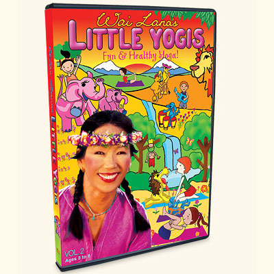 Little Yogis DVD Vol. 2 with Wai Lana