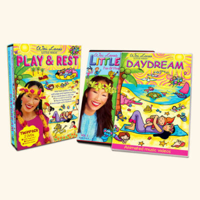 Play And Rest Twin Pack - 2 DVD Set by Wai Lana