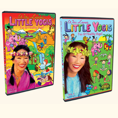 Little Yogis Twin Pack - 2 DVD Set by Wai Lana